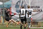 Sobotní charitativní fotbalový turnaj sportovních a hereckých osobností v Mikulově vyhrál tým pořádajícího hokejisty Jakuba Voráčka.