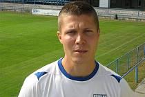 Ondřej Lysoněk je stoperem třetiligového celku fotbalistů MSK Břeclav.