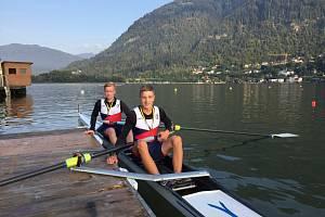Mladí veslaři z Břeclavi