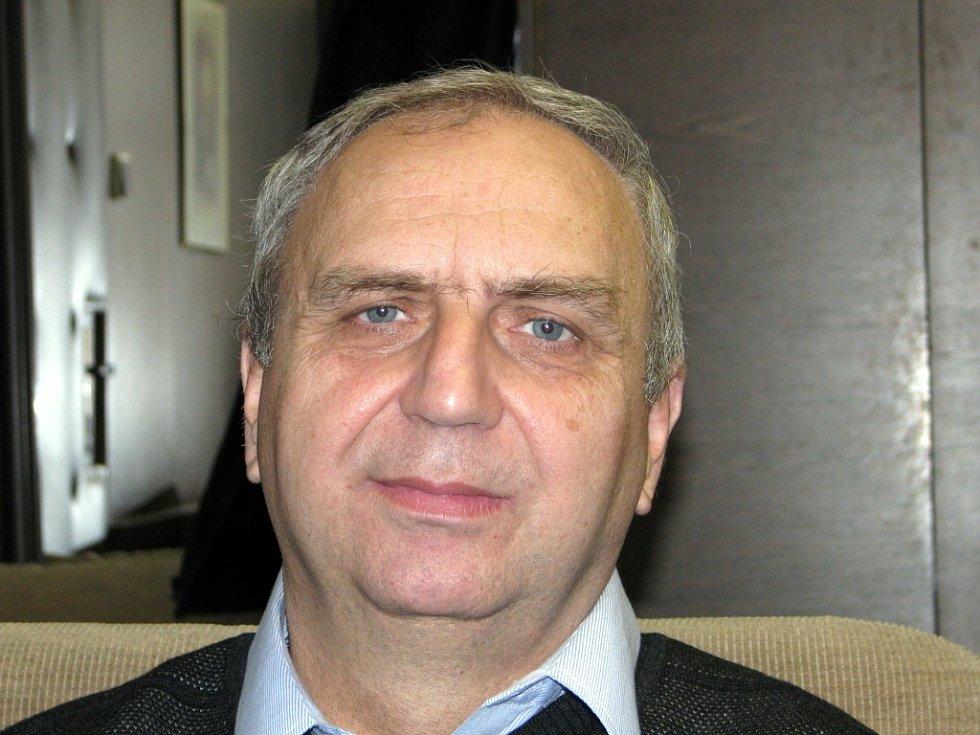 Končící předseda Okresního soudu v Břeclavi Josef Mužík.
