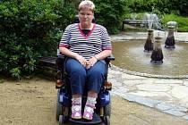 Michaela Hlavatá z Lednice se od narození potýká s kombinovaným tělesným postižením.