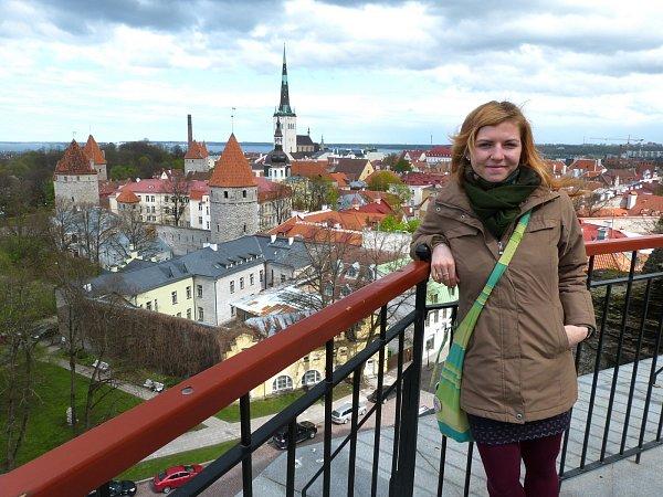Tereza Pláteníková strávila vEstonsku tři a půl měsíce.