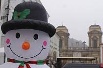 Mikulovské Náměstí patřilo vánočnímu jarmarku.