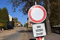 Kanalizaci mají v Bořeticích už téměř hotovou. Nyní je na řadě výstavba čistírny odpadních vod.