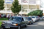 Mercedesy pod břeclavským zámkem