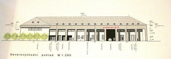 Nové společenské centrum vKosticích má stát čtyřicet až padesát milionů korun.