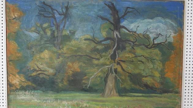 Tvorba jednoho z nejznámějších břeclavských malířů Františka Hodonského staršího