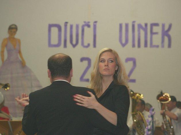 Mladí i o něco starší se sešli v Tvrdonicích v sále sokolovny, aby si užili letošní Dívčí vínek.