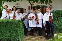 Cimbálová muzika Notečka oslavila deset let.
