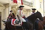 Kaskadéři na koních.