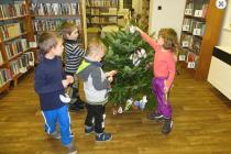 Vánoční tvoření si užijí v pavlovické knihovně