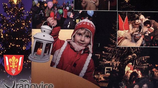 Vánoční pohlednice z Vranovic.
