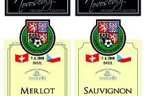 Čeští fotbalisté mají pro Euro své víno.