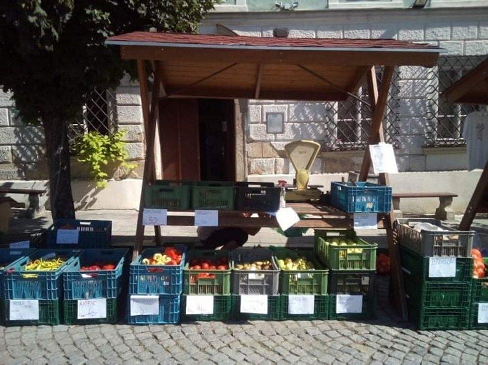 Farmářské trhy v Mikulově.