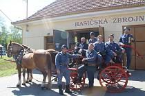 Hasiči z Boleradic se pyšní unikáty. Kačenou a koňkou.