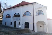 Mikulovská synagoga.