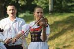 Tradiční folklorní festival Kraj beze stínu.