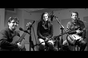 Velkobílovické folkové trio Marián & Úlety.