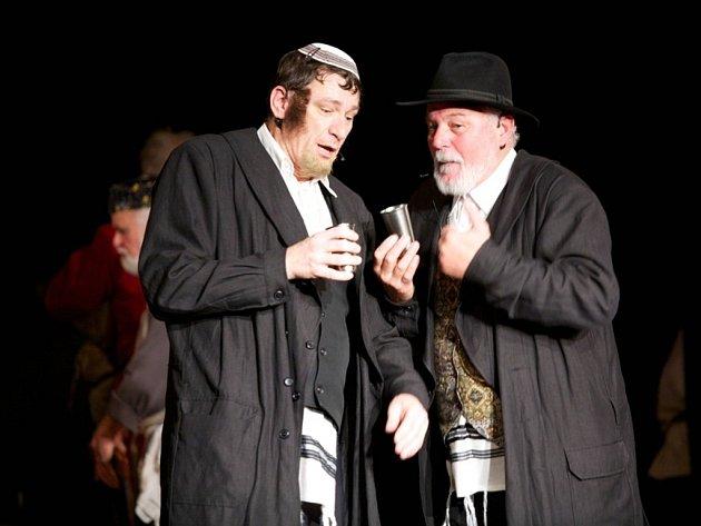 Zbyněk Háder z boleradického Divadelního spolku bratří Mrštíků hrál v muzikálu ve Vídni hlavní roli.