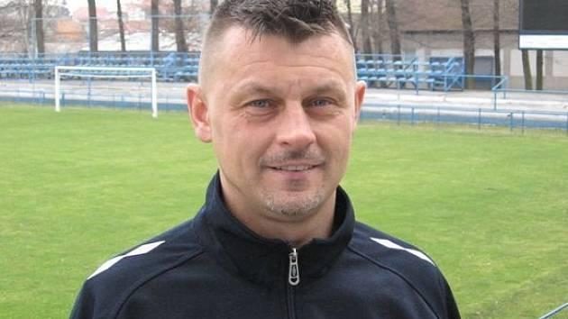 Lanžhotský trenér Marcel Houška.