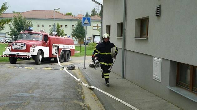 Sbor dobrovolných hasičů z Valtic.
