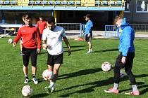 Břeclavští fotbalisté zahájili tento týden společnou přípravu na další sezonu.