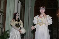 O víkendu v Lednici návštěvníky provázela strašidla