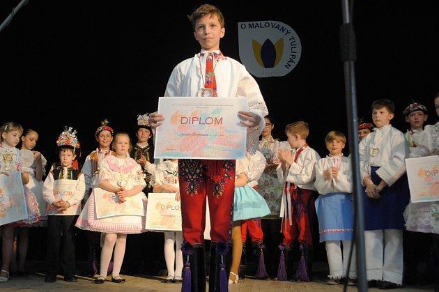 Vkategorii devět až jedenáct let zvítězil Jakub Bravenec zCharvatské Nové Vsi.
