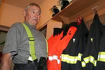 Jaroslav Konečný ze sboru dobrovolných hasičů v Rakvicích.