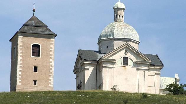 Kapličky křížové cesty na Svatém kopečku v Mikulově.