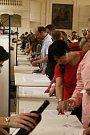 Padesátý ročník Valtických vinných trhů bavil na šest tisíc návštěvníků.