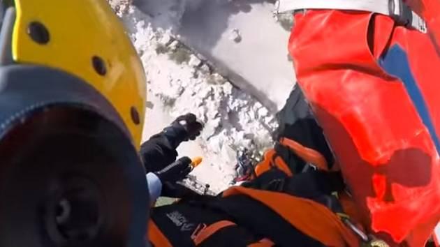 Jak se na Pálavě zachraňuje diabetik z vrtulníku?  Podívejte se na video