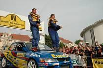 Rally v Hustopečích.