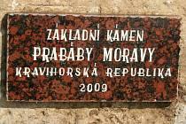 Třetí Boží muka nechal postavit u Bořetic prezident Kraví hory Václav Petrásek.