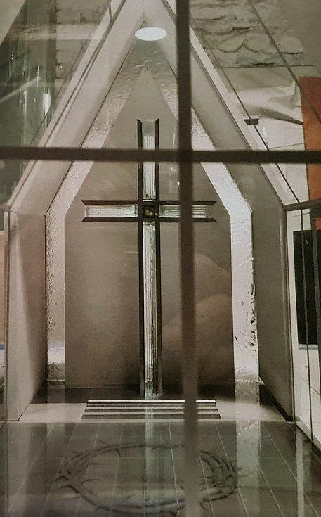 Model Kaple modlitby Ježíše Krista.