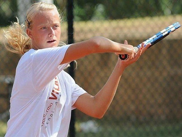 Břeclavská tenistka Linda Dubská.