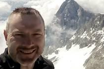 Leoš Bařina z Mikulova si horolezectví zamiloval.