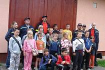Sbor dobrovolných hasičů ze Strachotína.