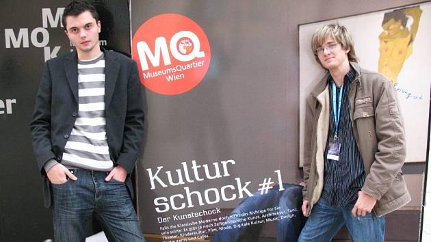 Studenti z Břeclavi prezentovali film ve Vídni.