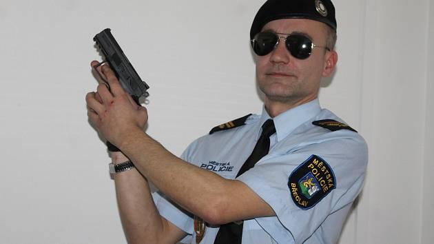 Odcházející zástupce velitele a mluvčí břeclavské městské policie Zdeněk Novák.