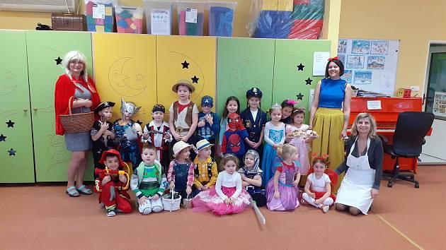 Nabitý program měly děti v Mateřské škole v Břeclavi celou zimu. FOTO: Archiv školy