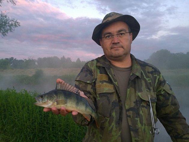 Předseda podivínského pobočného spolku Moravského rybářského svazu Petr Švec.