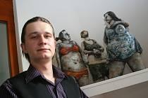 Keramické sousoší Tři grácie po třiceti letech loni získala valtická Galerie Reistna darem od Karla Ševčíka z Brna. Zdarma. Letos by je už musela zdanit. Podle Lukáše Schneidera (na snímku) galerie dostává několik uměleckých děl ročně.