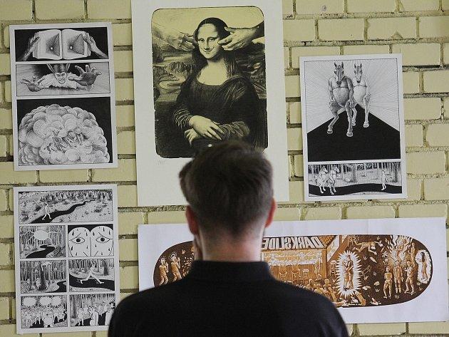 Břeclavský umělecký salon. Ilustrační foto.