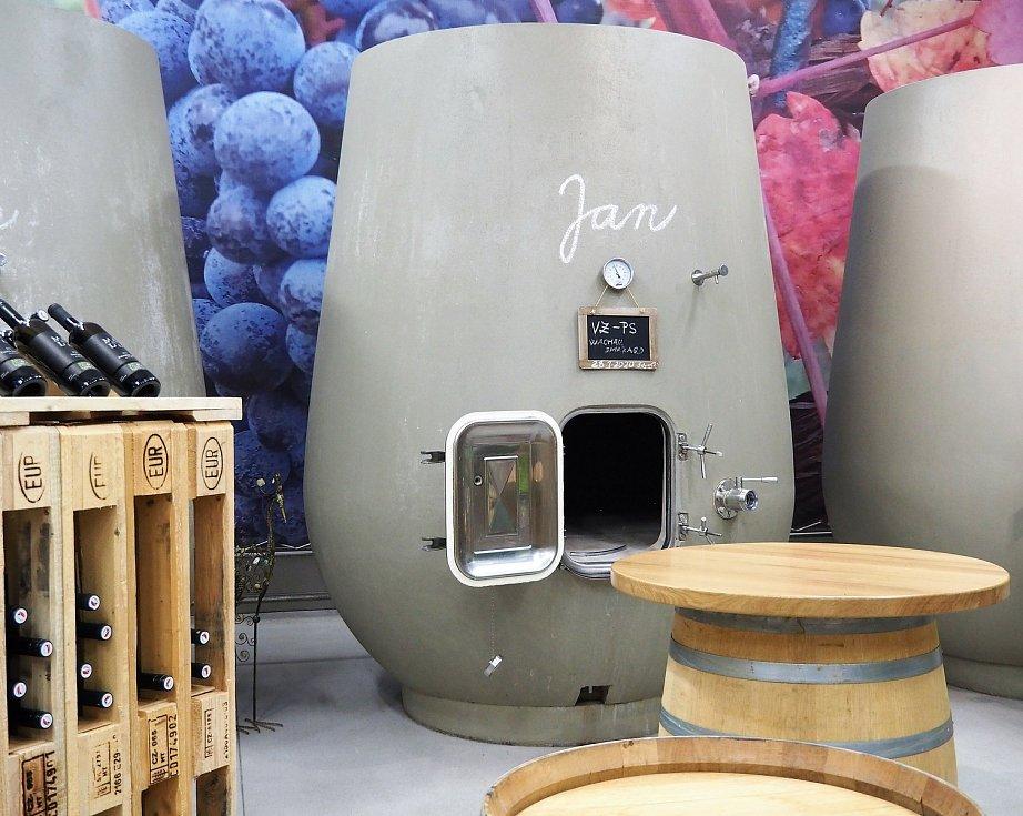 Již před pěti lety si betonové nádoby pořídili také do velkobílovického vinařství Malý vinařzdroj: František Mádl