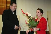 Haně Maciuchové v Břeclavi tleskal celý sál ve stoje.
