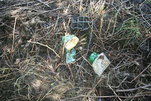 Kolem množství odpadků a nelegálně navozených věcí musí vbřeclavském lese procházet děti, které tam míří na procházky se školami. Podél stezky lze narazit kromě větví také na pohozené ledničky, televize či autosedačky.