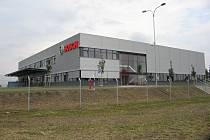 Budova servisního centra v Mikulově pro Českou republiku, Slovensko a Rakousko.