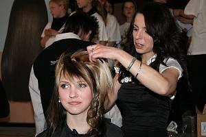 Show kadeřníků v Břeclavi.