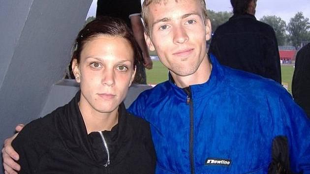 Markéta Malariková s Romanem Paulíkem.